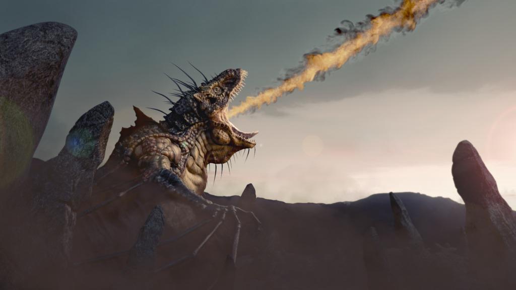 rendering finale drago post