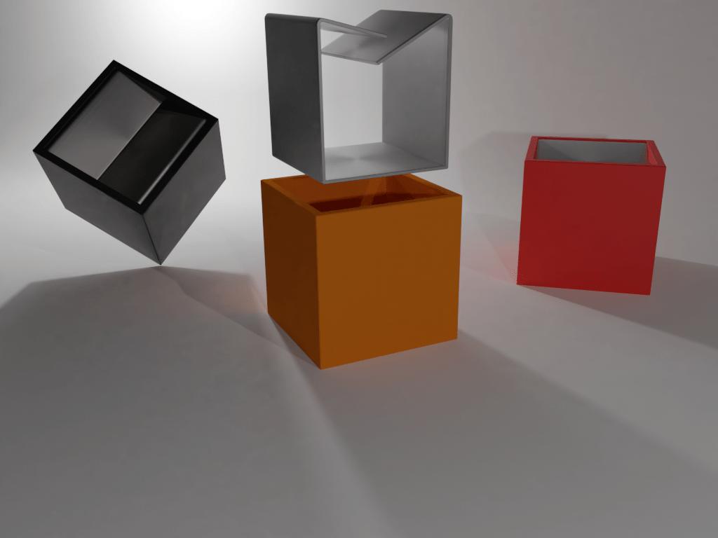 Fantasy Cube Cubo Bruno Munari