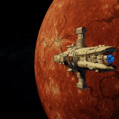 spaceship_planet