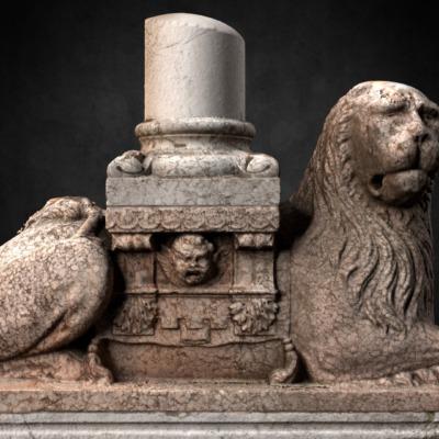 leone-stiloforo-della-cattedrale-di-piacenza