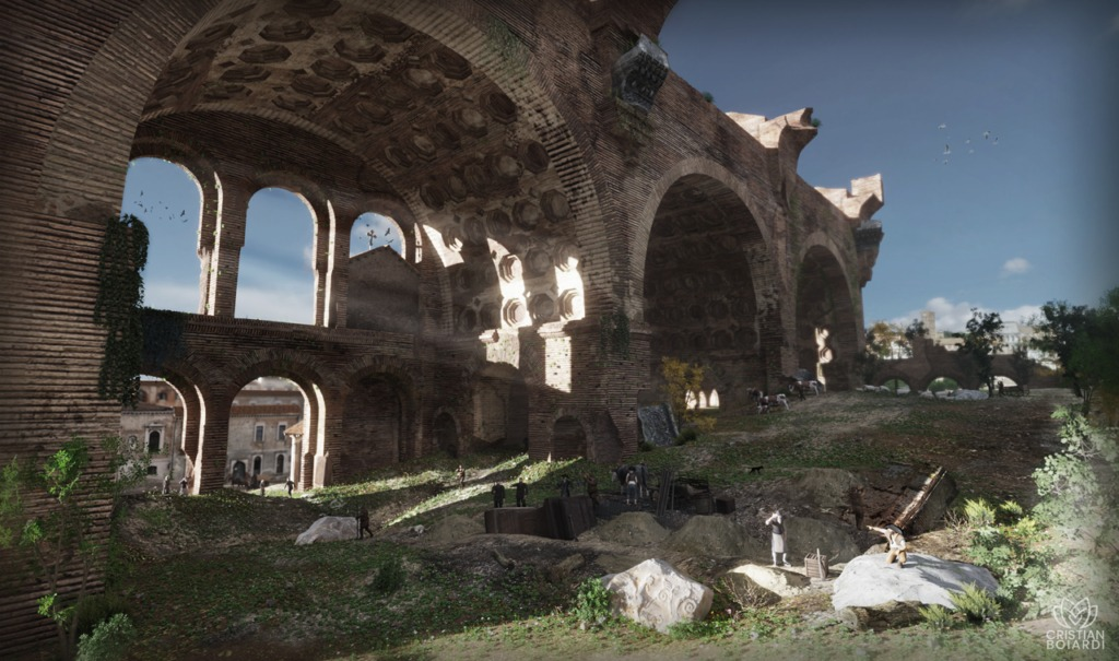 Cristian-Boiardi---basilica-massenzio---Piranesi1280