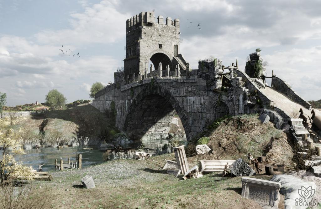 Cristian Boiardi- Il Ponte Salario al tempo di Piranesi