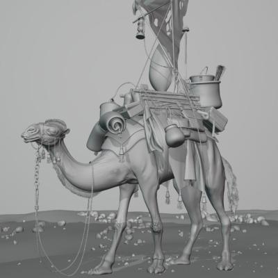 camel_clay