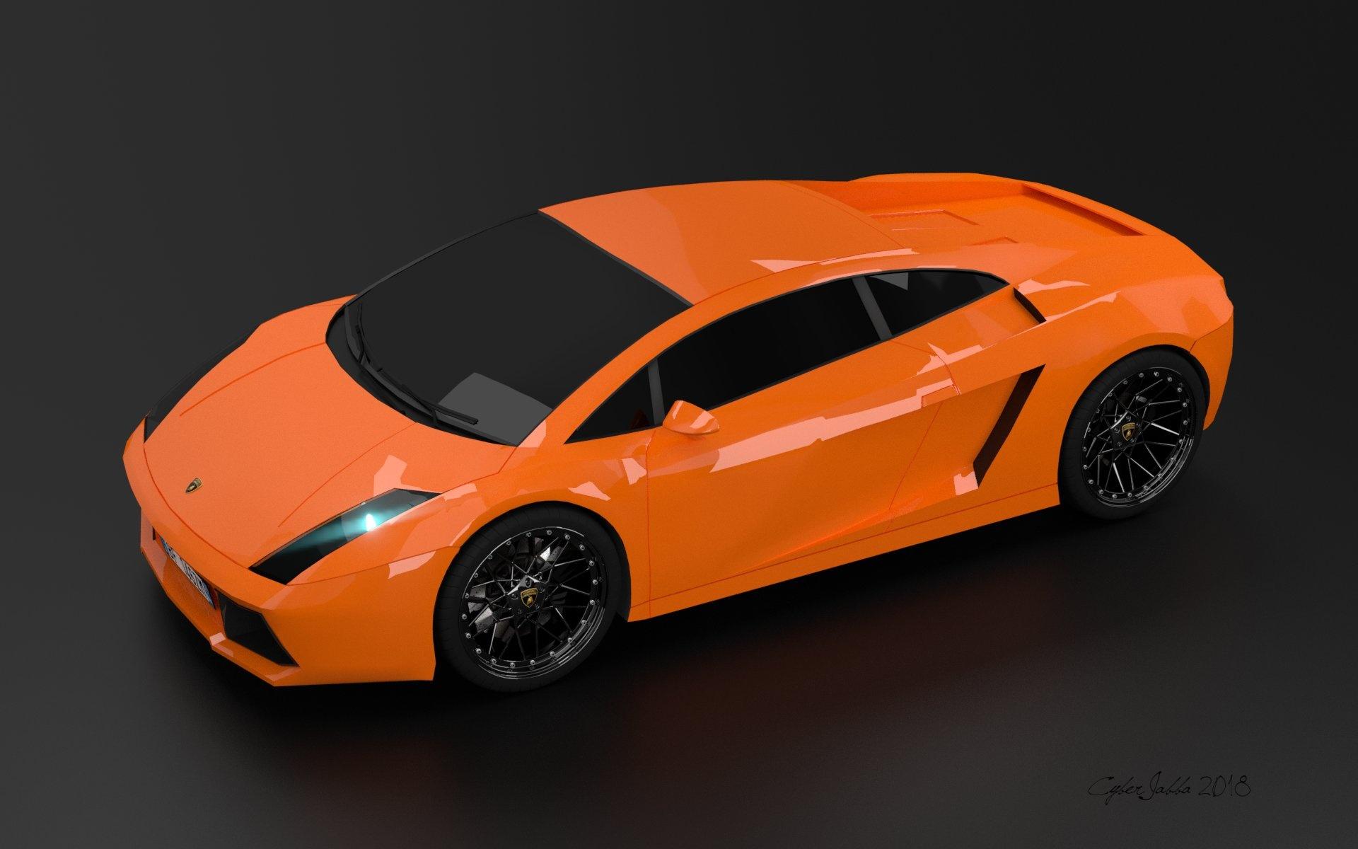 lambo_orange