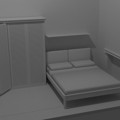 camera-da-letto-modellazione