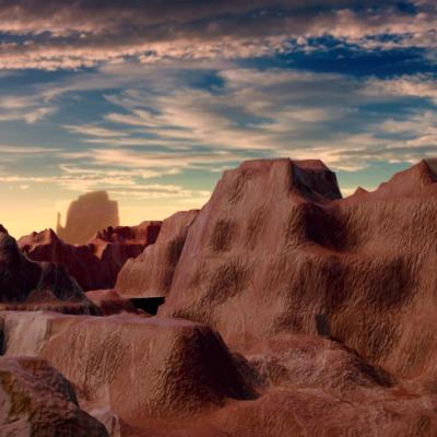 canyon-sunset