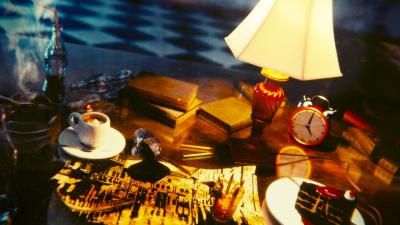 Tavolo con Lampada_Gimp