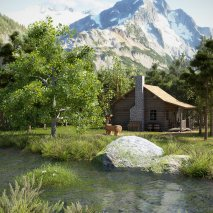 a_cabin_in_the_nature