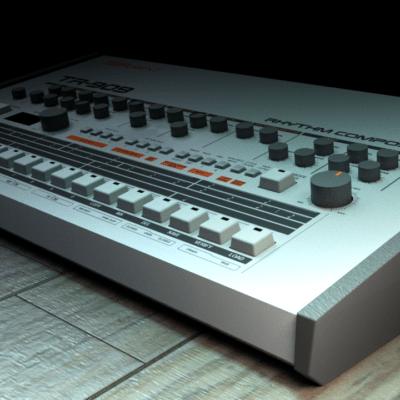 d-tr-909-blender