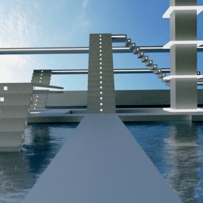 swimming-stairs