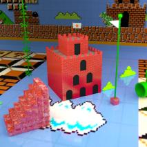 fantasy-cube-super-mario-castle