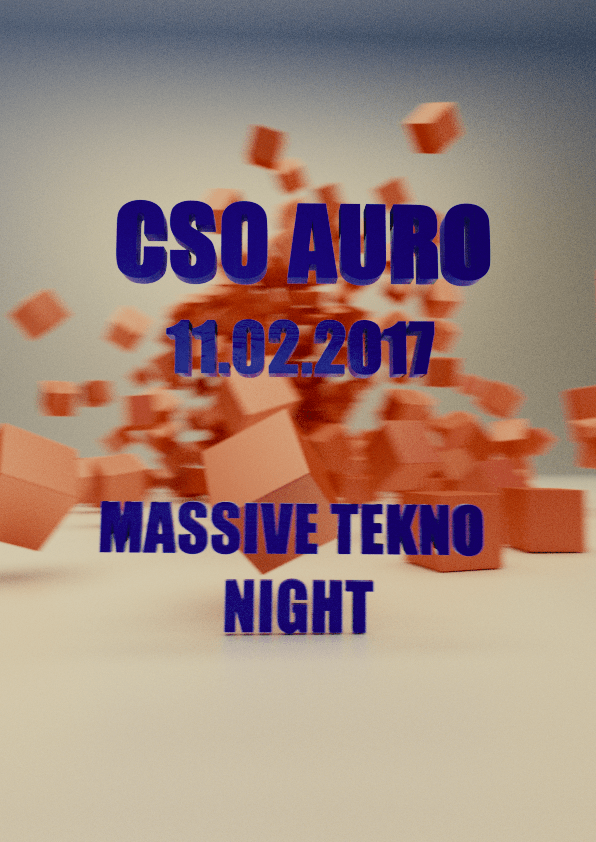 Massive Tekno Night - Flyer