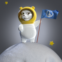 space-bear-for-the-peace