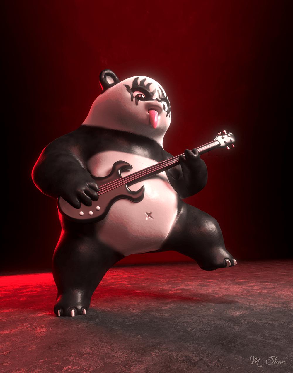 kiss-the-panda