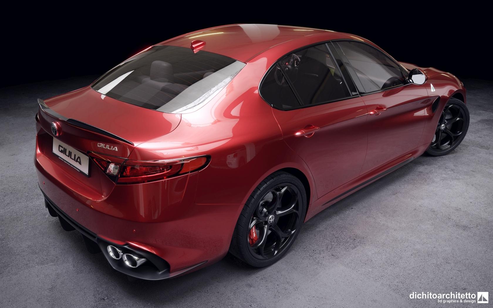 Alfa Romeo Giulia, vista 2