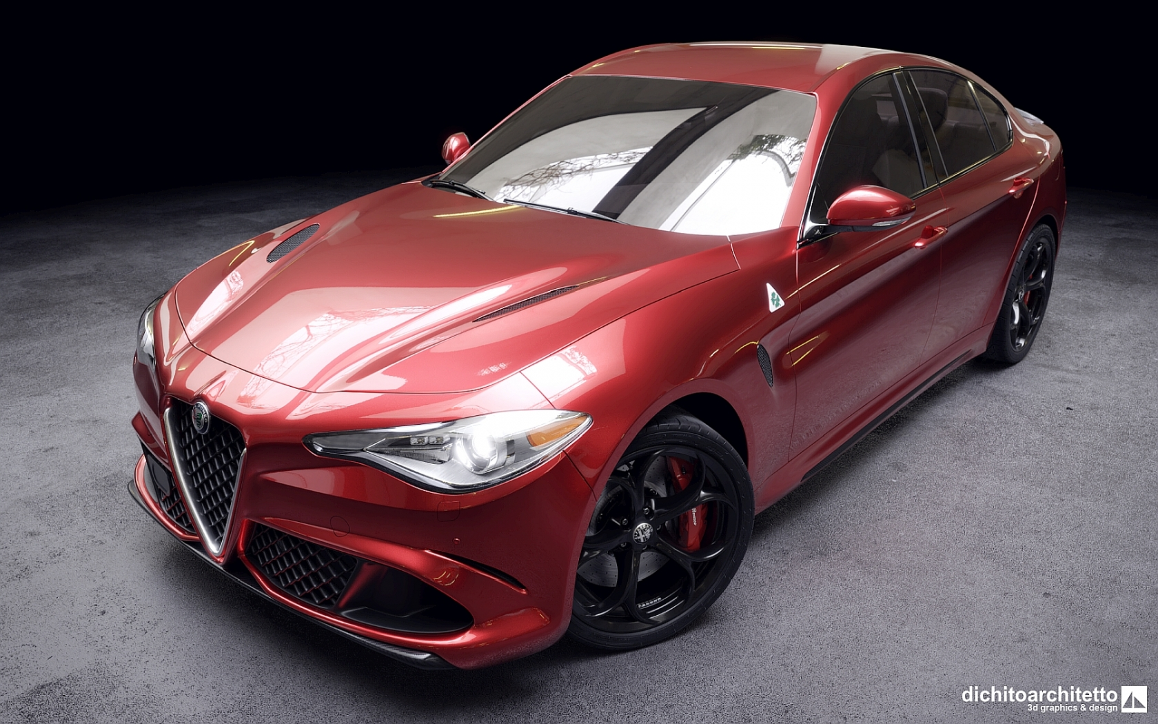 Alfa Romeo Giulia, vista 1