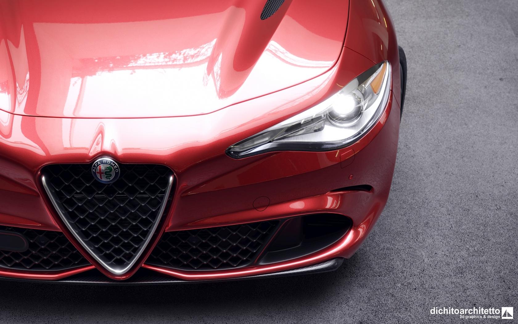 Alfa Romeo Giulia, vista3