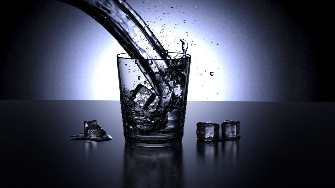 water-in-glass