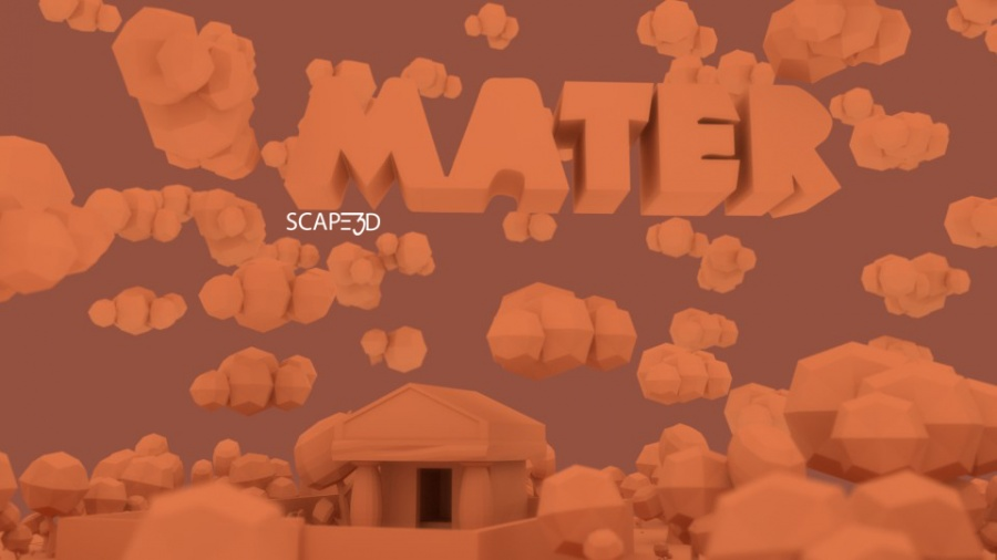 mater scritta_4 clay SCAPE3D MATER