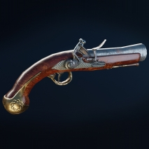 flintlock-pistol-low-poly