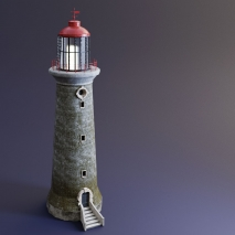 lighthouse-lowpoly