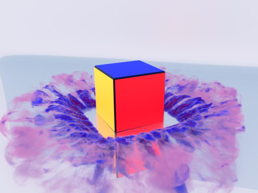 Fantasy Cube - color explosion