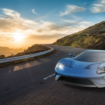 road-dawn-mountains-ford_gt_wireframe