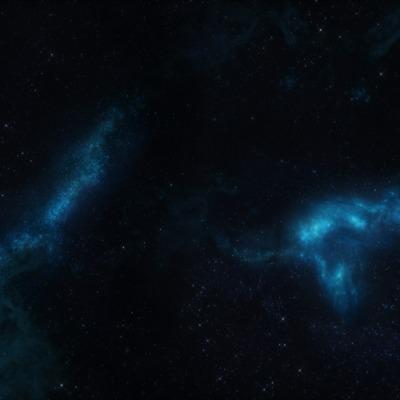 space-blue-light