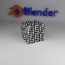 fantasy-cube-cubo-di-magneti-con-logo-di-blender