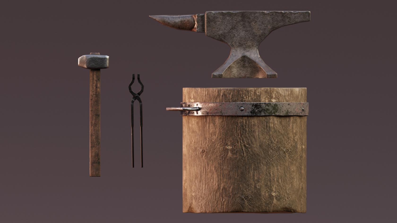 The blacksmith's set