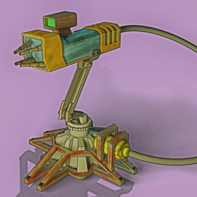 laser-turret