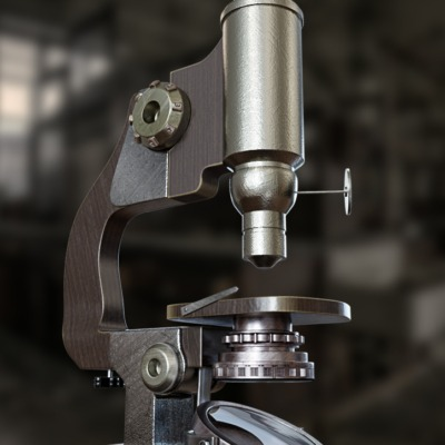 microscopio-vintage