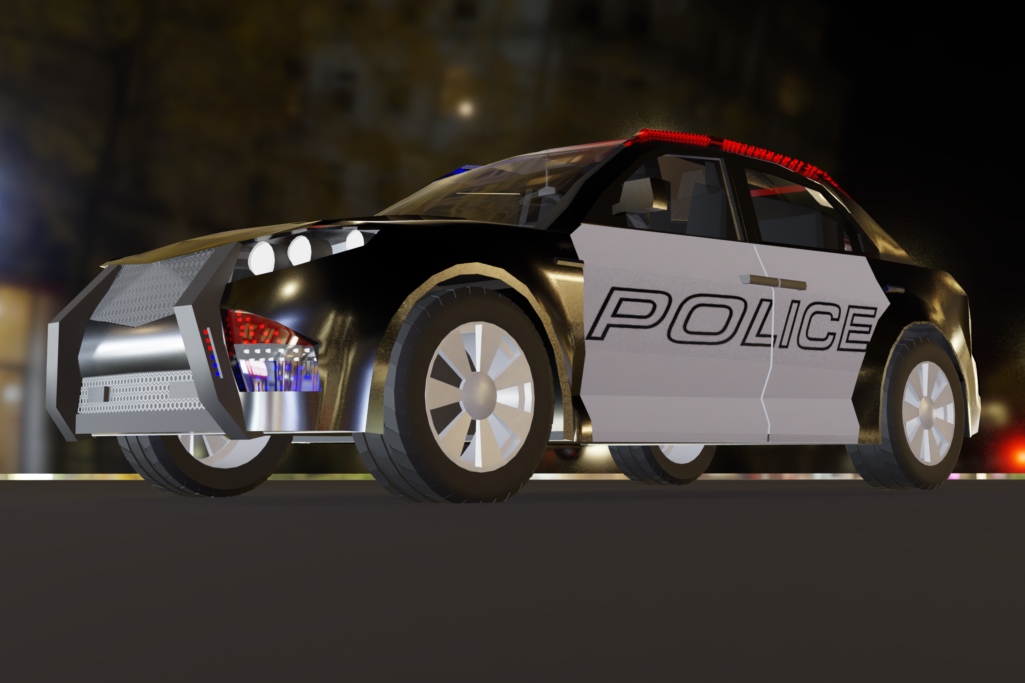 police car 01
