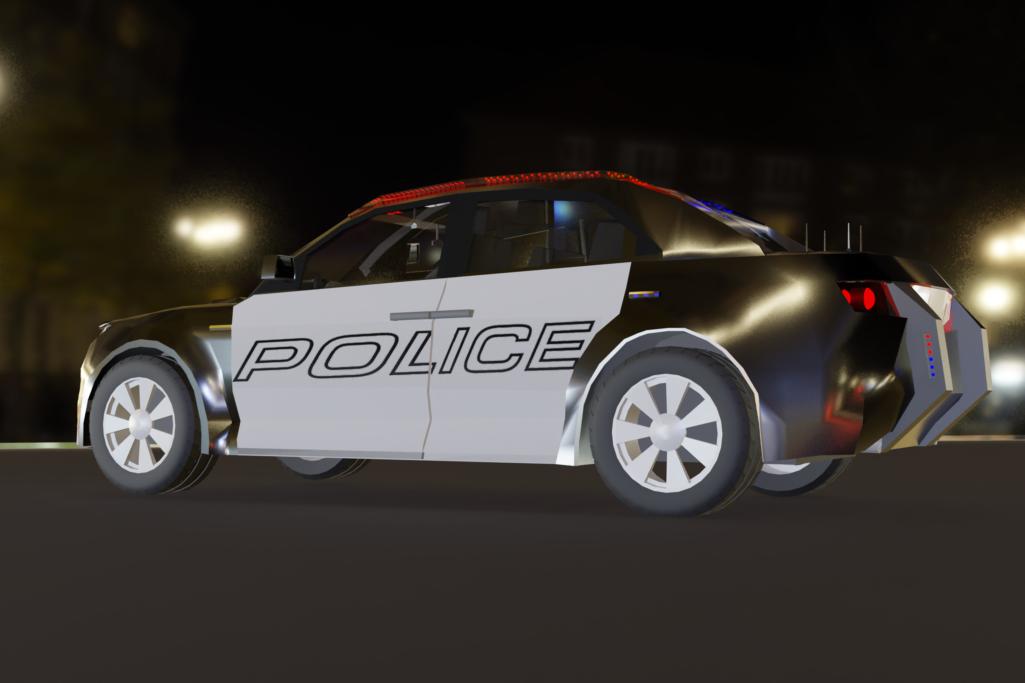 police car 02