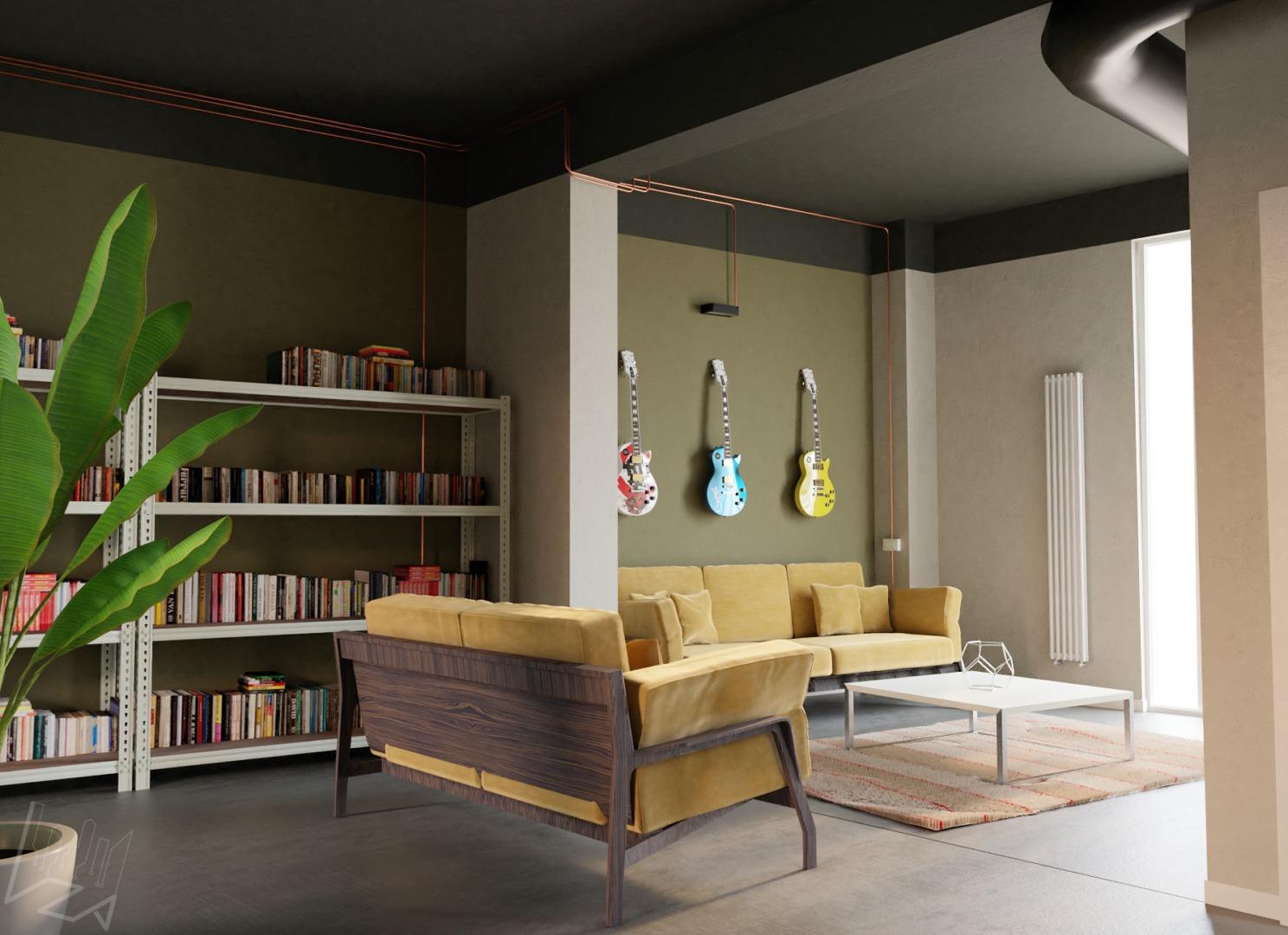 loft-soggiorno