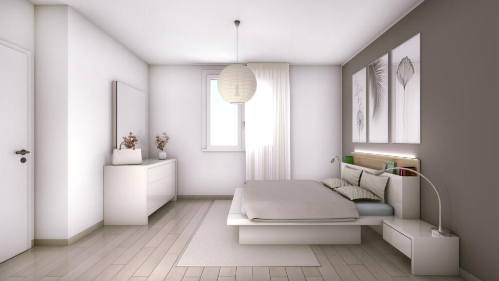 camera da letto altra vista