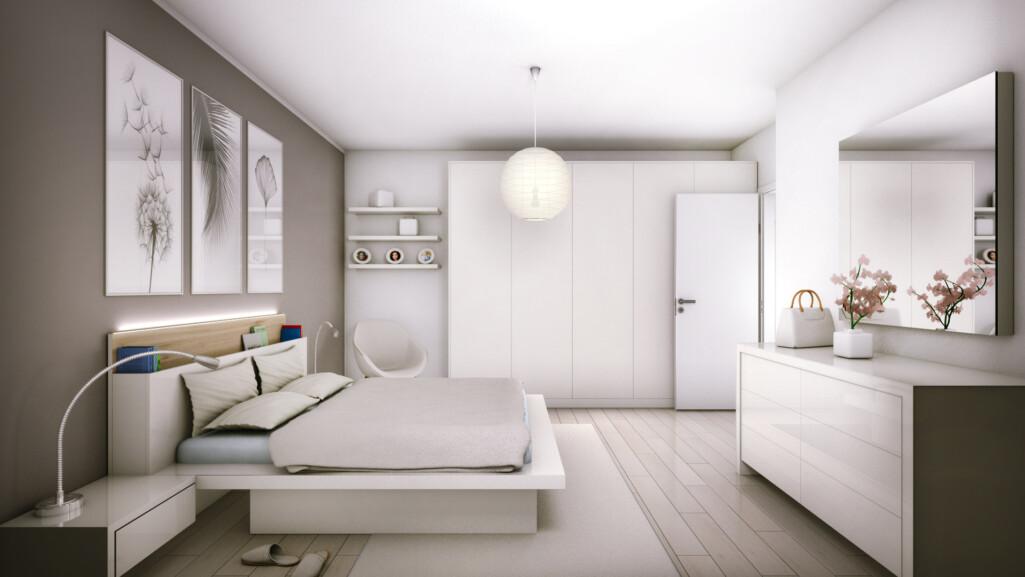camera letto vista 1