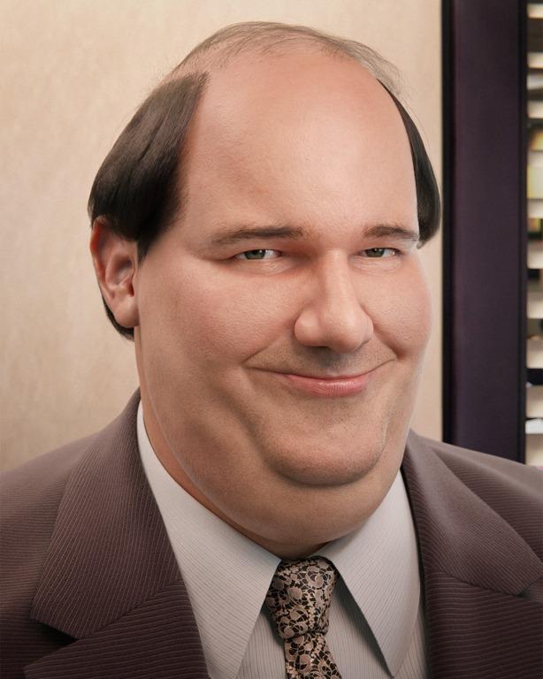 Kevin Malone 3D Portrait