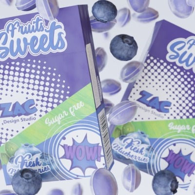 blueberry-candies