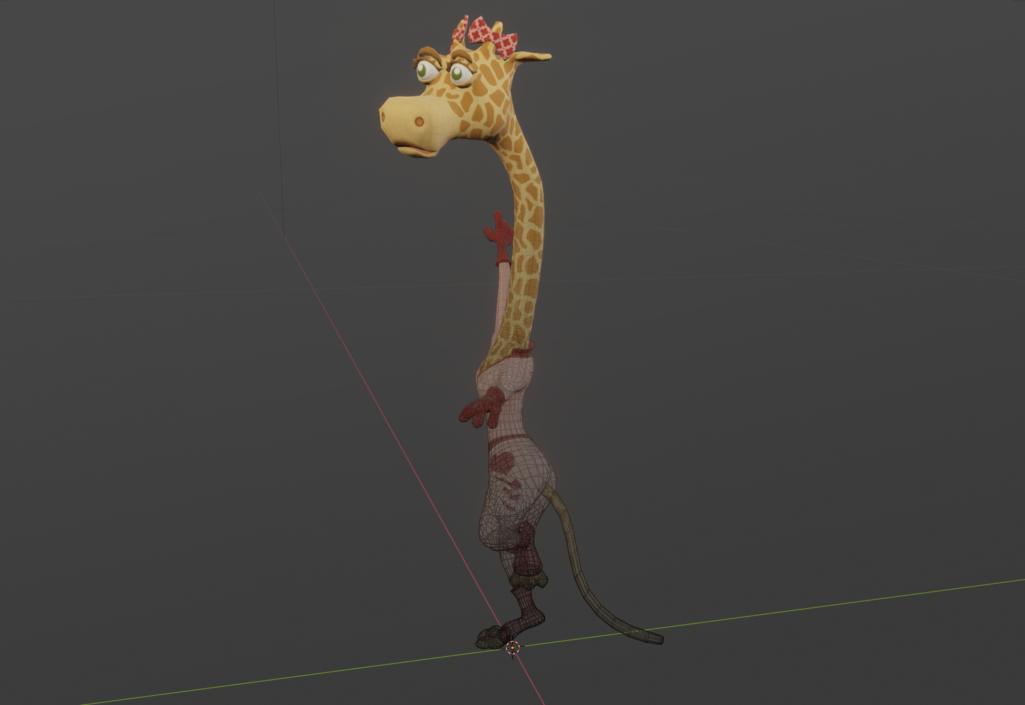 Giraffa pose1 b