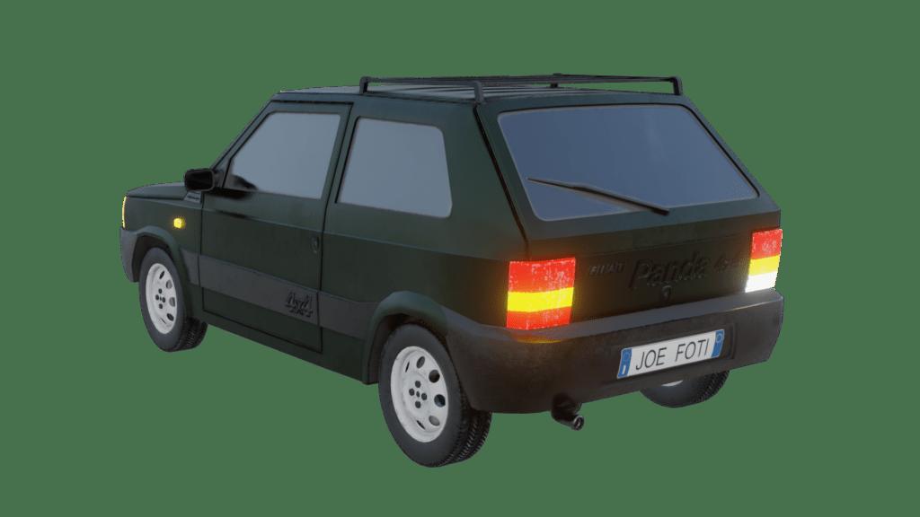 Fiat Panda 4x4 Render 02