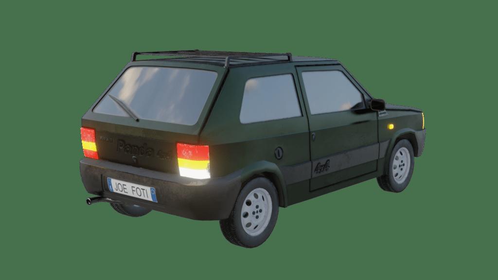 Fiat Panda 4x4 Render 03