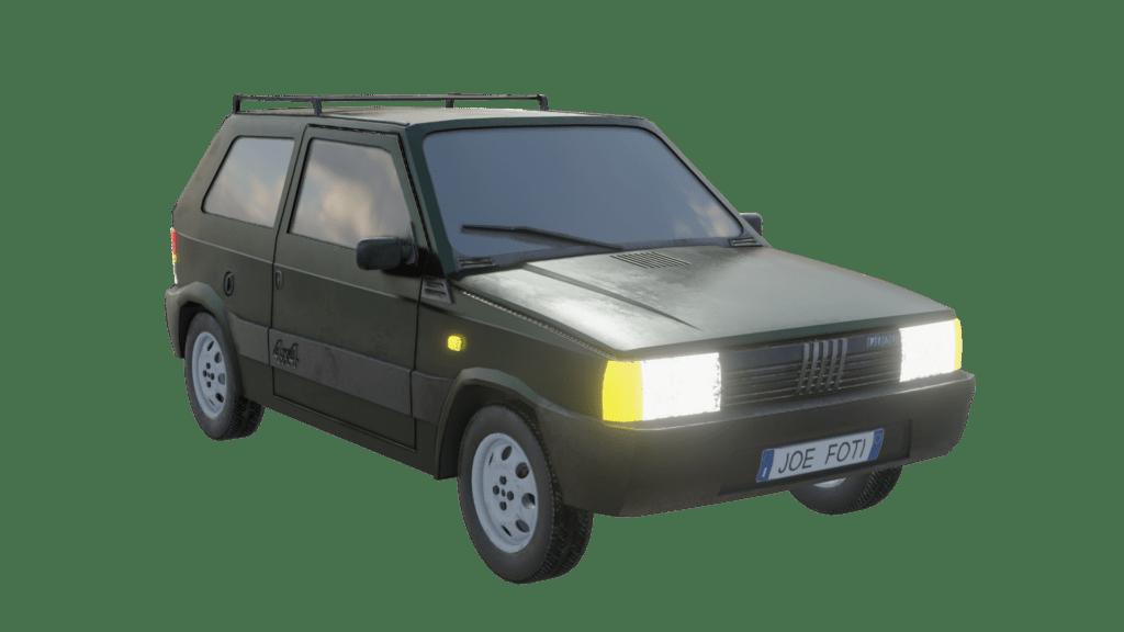Fiat Panda 4x4 Render 04