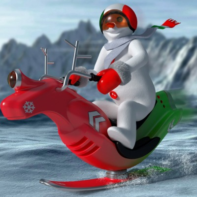 italian-snowman