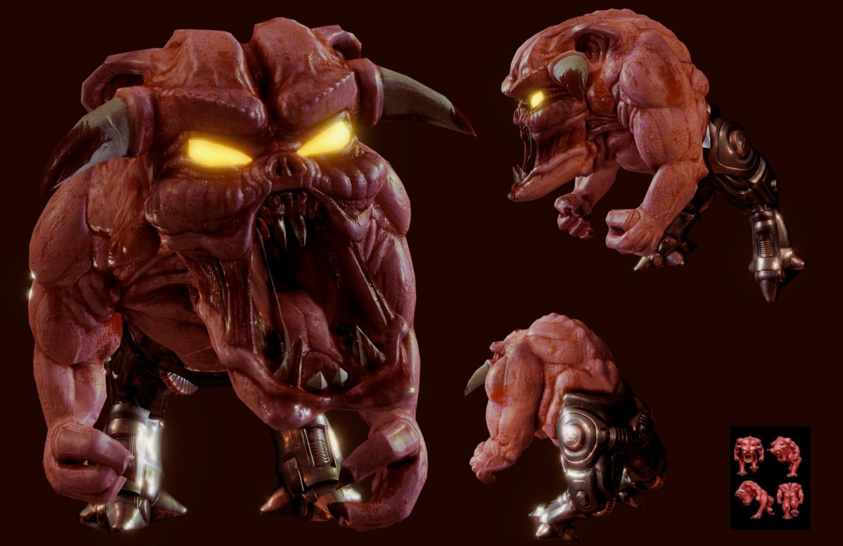 pinky-demon