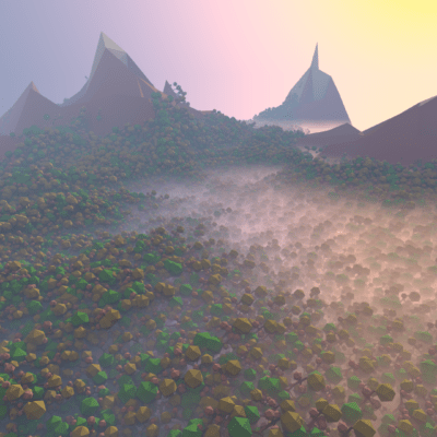 foresta-low-poly