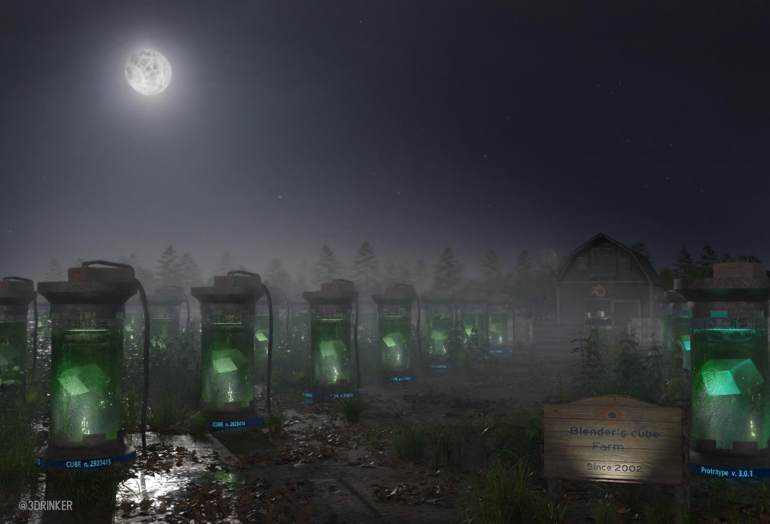 blenders-default-cube-farm