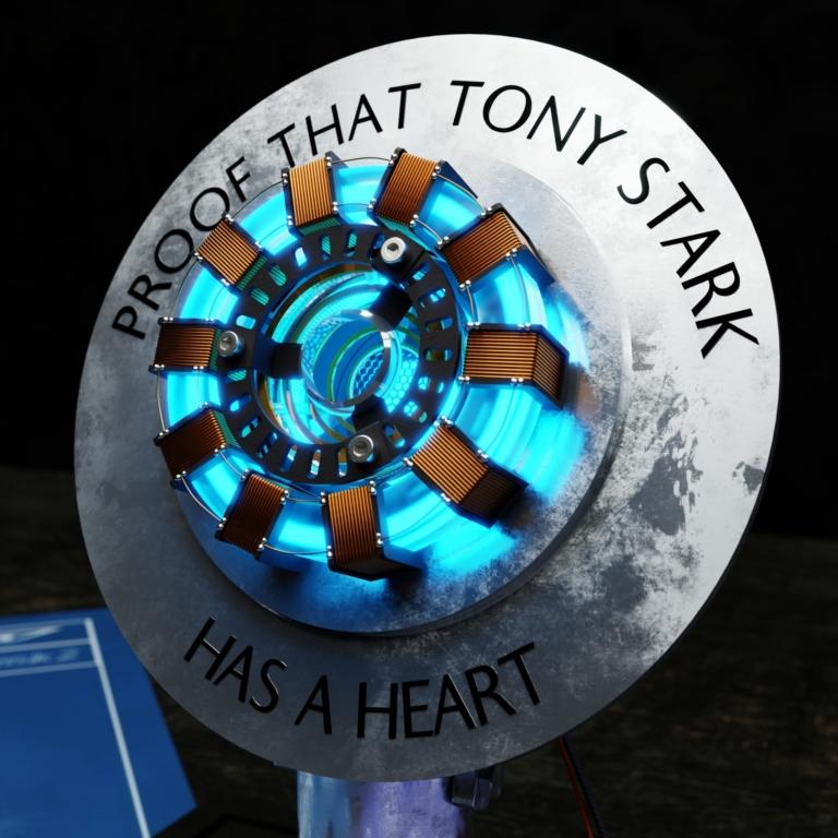 """proof that tony stark has a heart - """"Iron man"""""""