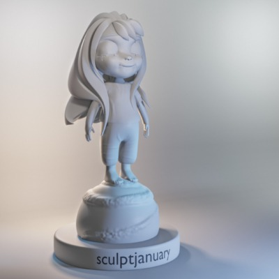 sculptjanuary_day31_tearsofjoy