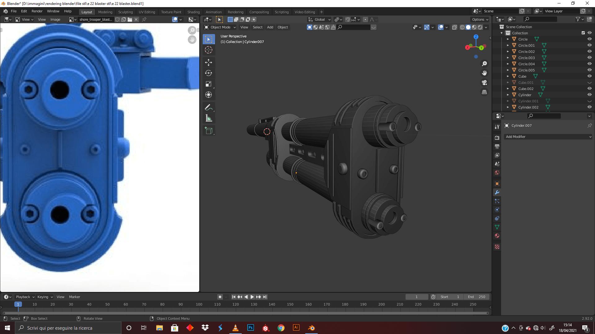 e-22-blaster-rifle